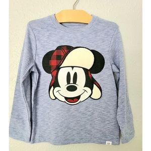 Baby Gap Long Sleeve Mickey Mouse Shirt
